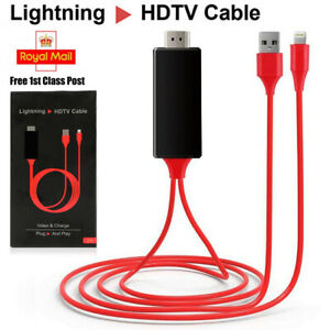 Lightning-to-HDMI-CABLE-iPhone-iPad-Screen-To-TV-Cable-HDMI-1080p-USB-Charger