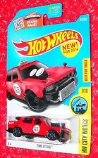 2016 Hot Wheels TIME ATTAXI  #172  HW City Works DHP23-D9B0K  taxi
