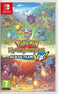 Pokemon Mystery Dungeon Rescue Team DX Nintendo Switch Brand New Factory Sealed