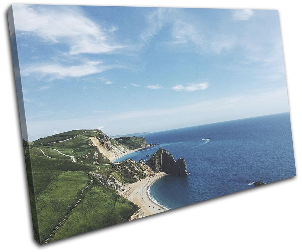 Ocean Aerial Aerial Aerial Nature Landscapes SINGLE TELA parete arte foto stampa 809df7