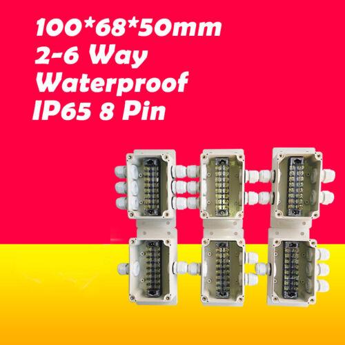 Anschlussdose Verteilerdose Abzweigdose Klemmkasten Klemmdose 100*68*50mm IP65