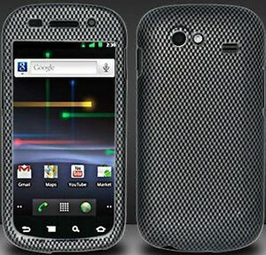 For-Samsung-Nexus-S-Hard-Rubberized-Protector-Case-Snap-Phone-Cover-Carbon-Fiber
