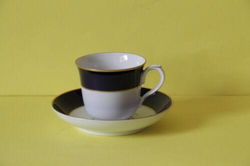 Villeroy und Boch Heinrich Royal Blue Kaffeetasse mit Untertasse Tasse Untere