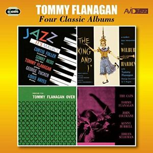 Tommy-Flanagan-Four-Classic-Albums-Jazz-It-039-s-Magic-The-King-And-CD