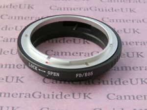 For Canon FD Lens To EOS EF Camera FD-EOS Tube Mount Adapter Ring | eBay
