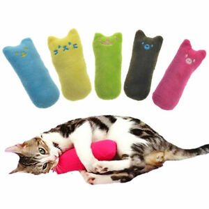 Interactive-Fancy-Catnip-Cat-Pillow-Toy-Pets-Teeth-Grinding-Claws-Funny-Toys