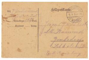 Dr-Field-Postcard-post-Station-No-184-Nach-Grabsdorf-Schkoln-Thur-04-09-1915
