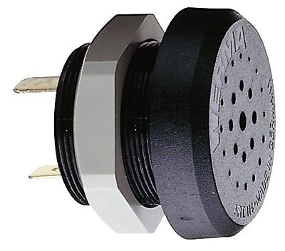 100% Wahr Werma Signaltechnik Electr. Buzzer Em Contin. Tone 230vac Bk 114.068.28