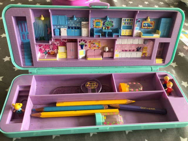 Polly Pocket, Penalhus, Polly Pocket penalhus Pæn stand,…