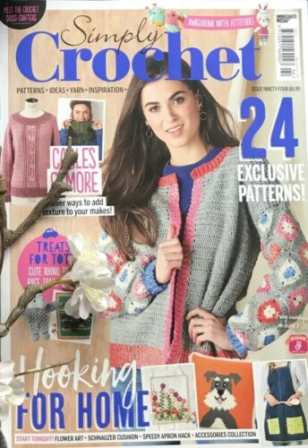 Simply Crochet Issue 94 UK Magazine 24 Exclusive Patterns
