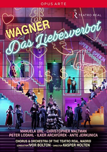 CHORUS OF TEATRO REAL/BOLTON-WAGNER:DAS LIEBESVERBOT (US IMPORT) DVD NEW