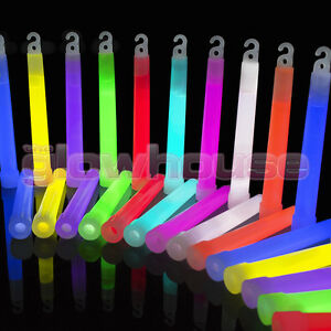 25-x-6-inch-1-5cm-Thick-Glow-Sticks-Premium-Quality-6-034-15mm-Glowhouse-Wrapped