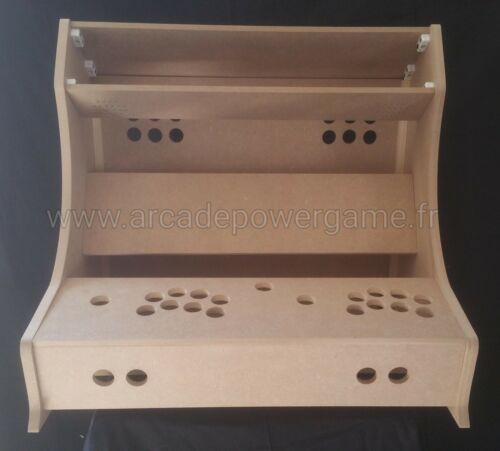 Kit Bartop Arcade XXL 2 players pour pc ( MADE IN FRANCE )