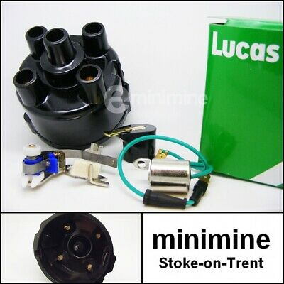 condenser points sports coil and red rotor Genuine Lucas 59D replacement cap