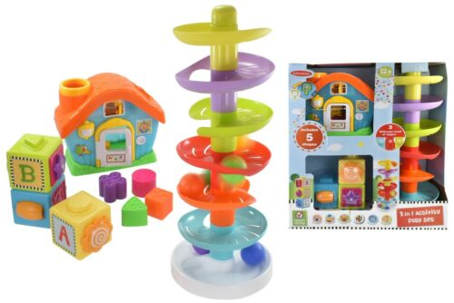 3 in 1 Kids Activity Centre Play Baby Toy Games Toddler Gift Brand New