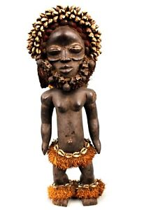 Art-Africain-Rare-Statue-Poupee-Dan-Guere-Quality-African-Doll-54-5-Cms