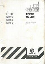 New Holland Digger Tractor Loader Backhoe Nh75 Nh85 Nh95 Workshop Service Manual