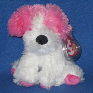 TY SNUGGINS thE DOG  BEANIE BABY - MINT with MINT TAG - RETIRED BBOM