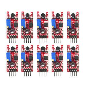 10PCS-Sound-Detection-Sensor-Module-Sensor-5V-DC-Compatible-With-Arduino