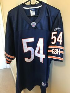 premium selection 1fd4f ee42f authentic brian urlacher jersey