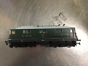 Actif Hag 160 Marklin Digital Ac Sbb Cff Green Class Re 4/4 E-lok Loco 11107 Mib Nc