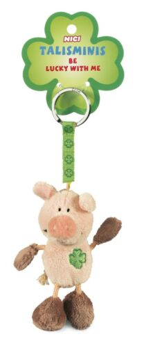 Nici Schlüsselanhänger Plüsch Talisminis Glücksbringer Schwein pig lucky charm