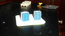 SIKU  Set of 20 Blue Pallets Skids 1/64 or 1/87 Scale 3/4 Inch Square