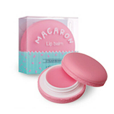 It's Skin Macaron Lip Balm 9g  #1 strawberry  / Sweet & Moist Lip Balm