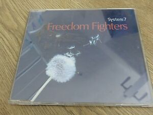 System-7-Freedom-Fighters-UK-CD-Single-TENCD-394-Mint-Hillage-Orb