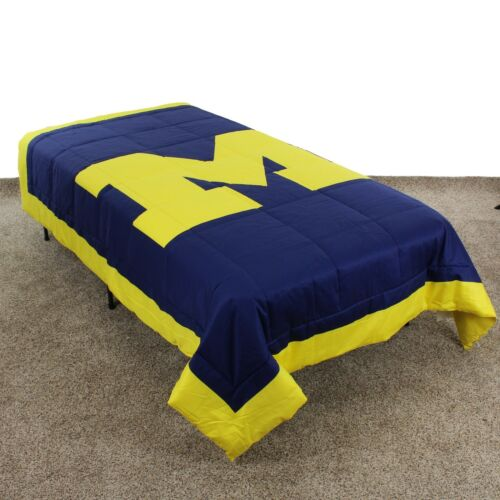 Queen or King Twin Michigan Wolverines Comforter Only Full
