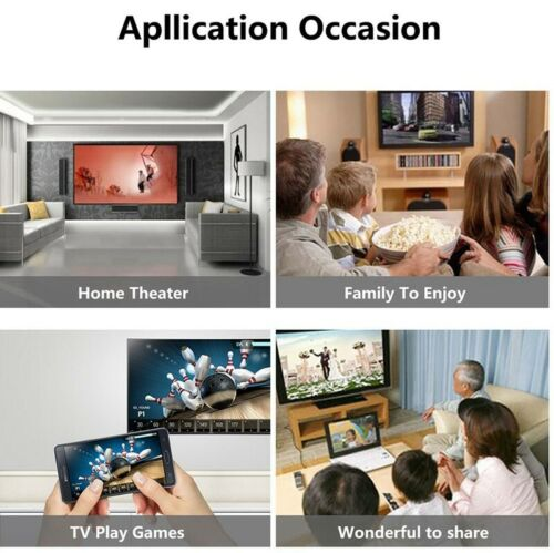HDMI Wireless WiFi Adapter to TV For iPAD iPhone 7 8 Plus Samsung S7 Edge S8 S9