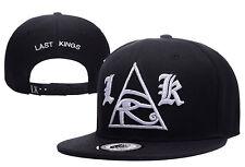 New Last Kings Adjustable Baseball Cap Snapback Hip-Hop Cool Street Black Hat 5#