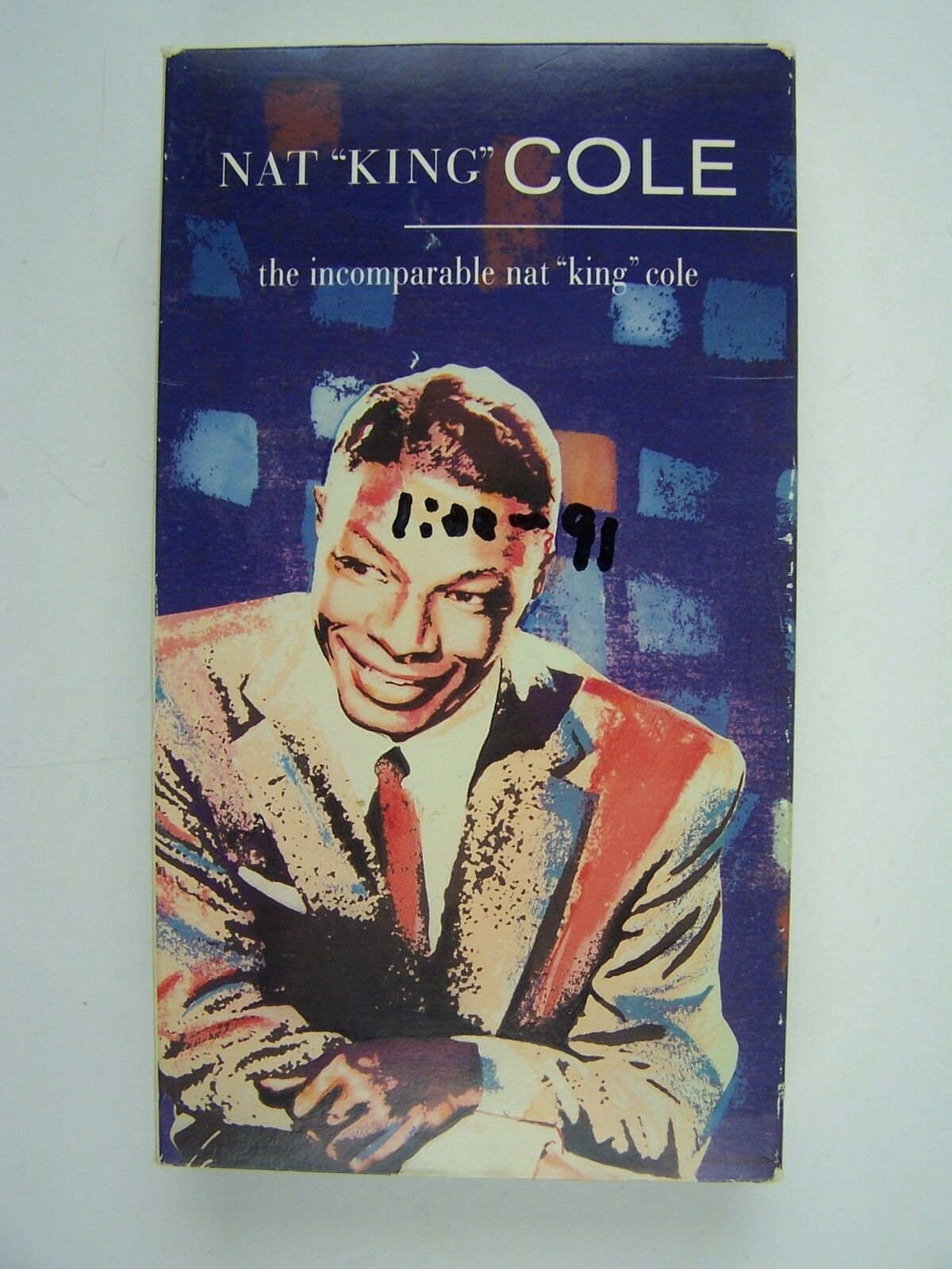 Incomparable Nat King Cole VHS Video Tape 32031224339