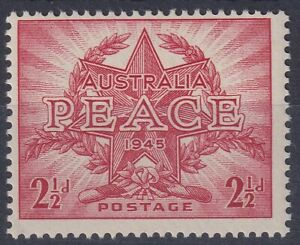 2-d-Peace-stamp-with-the-No-Watermark-variety-Scarce-BW-236a