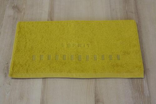 Esprit Handtuch Esprit Home Solid Mustard 50x100 cm NEU
