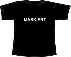 Maskiert-Fun-T-Shirt-Damen-Girlie-Verkleidet-Fasching-Karneval-Fasnet-Mallorca