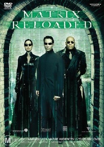 1 of 1 - The Matrix Reloaded (DVD, 2003)