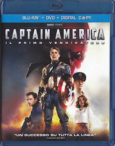 Blu-Ray-DVD-Captain-America-Capitan-Marvel-Cinematic-Univers-ED-RARA-ITA