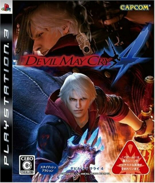 PS3 Devil May Cry 4 with Tracking number New from Japan