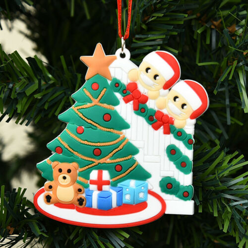 Details about  /Family Christmas  Tree Ornaments Xmas Party • Claus Hanging Decoration Gifts
