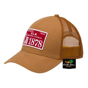 NEW BROWNING LICENSE MESH BACK HAT BALL CAP BUCKMARK LOGO BURNT BROWN