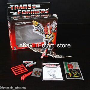 Transformers G1 Dinobots Swoop 100% de réédition complète par une tierce partie