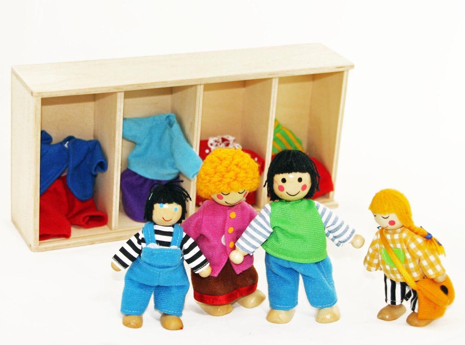 Frota Puppenhaus + Puppenhausmöbel Puppenmöbel 28 Teile Teile Teile + Familie + Hussen b77059