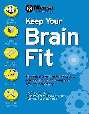 1 of 1 - Mensa: Keep Your Brain Fit, Robert Allen, New Book