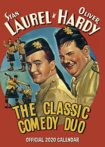 Laurel and Hardy Official 2020 Calendar