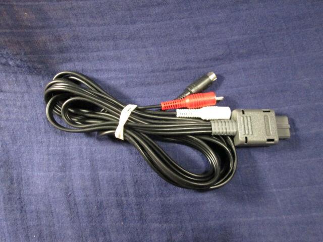OEM Offical Nintendo S-Video Cable SHVC-009 N64 SNES GameCube US Seller