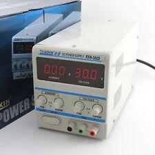 New Digital Rxn 302d Ii Triple Output Linear Variable Power Supply 30v 2a 220v