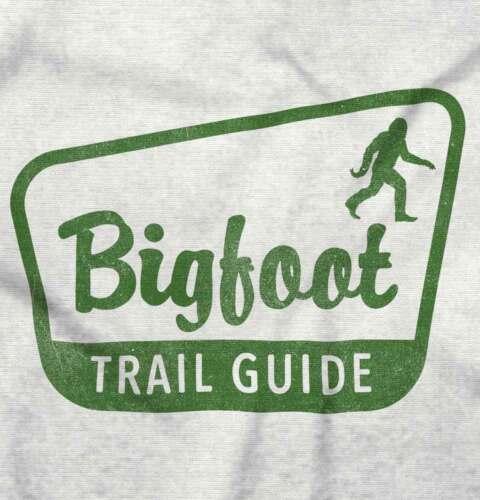 Bigfoot Trail Guide Funny Mysterious Legend Sasquatch Gerber Onesie
