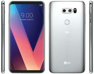 LG-V30-UNLOCKED-T-Mobile-64GB-Cloud-Silver-6in-16MP-H932-Clean-IMEI-Good