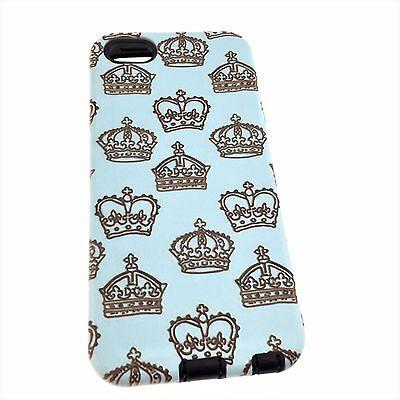 iPhone 5/5S/6/6S Grumpy Cat/Crown/Deer Design Hybrid Heavy Duty Tough Cover Case